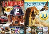 25 Movie Kids Pack (5-DVD)