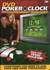 DVD Poker Clock and Tournament Manager