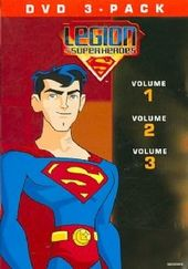 Legion of Superheroes - Volumes 1-3 (3-DVD)