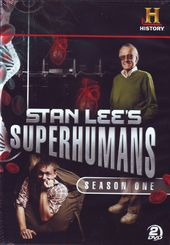 Stan Lee's Superhumans - Season 1 (3-DVD)
