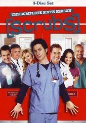 Scrubs - Complete 6th Season (3-DVD)