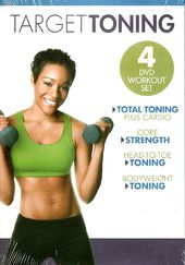 Target Toning Workout Set (4-DVD)