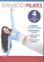 Lean Body Pilates Workout Set (4-DVD)