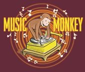 Curious George - Youth Music Monkey - T-Shirt