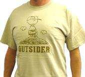 Peanuts - Gang - Charlie Brown Outsider - T-Shirt