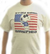 Peanuts - Gang - Stay Cool America - T-Shirt