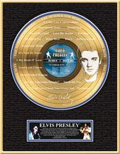 Elvis Presley - The Number One Hits - Framed