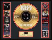 KISS - The First Decade - Framed Limited Edition
