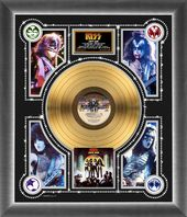 KISS - Love Gun - Framed Limited Edition 24k Gold