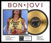 "Bon Jovi - Slippery When Wet: Framed 20""x24"" Gold"