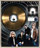 "Bon Jovi - The Circle: Framed 20""x24"" Gold LP"