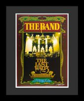 The Band - Framed Bob Masse Original Concert