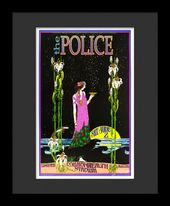 The Police - Framed Bob Masse Original Concert