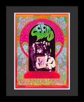 The Seeds - Framed Bob Masse Original Concert