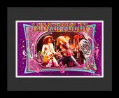 Led Zeppelin - Framed Bob Masse Original Concert