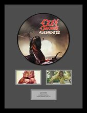 Ozzy Osbourne - Blizzard of Ozz Framed Picture