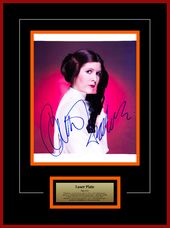 Star Wars - Signed Carrie Fisher as Princess Leia
