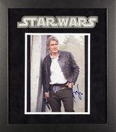 Star Wars - Signed Harrison Ford as Han Solo
