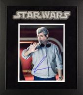 Star Wars - Signed George Lucas Framed Movie Photo