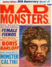 Mad Monsters #3 (Limited Edition - 50th