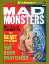 Mad Monsters #4 (Limited Edition - 50th