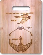 Star Trek - Bird of Prey Original Patent Wood