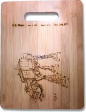 Star Wars - AT AT Original Patent Wood Cutting