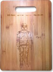 Star Wars - Boba Fett Original Patent Wood