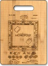 Monopoly - Original Patent Wood Cutting Board