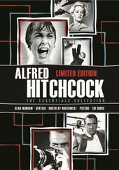 Alfred Hitchcock: The Essentials Collection (Rear