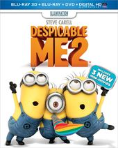 Despicable Me 2 3D (Blu-ray + DVD)