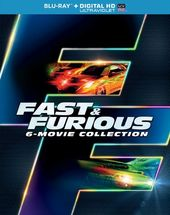 Fast & Furious 6-Movie Collection (Blu-ray)