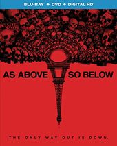 As Above, So Below (Blu-ray + DVD)