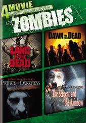 4-Movie Midnight Marathon Pack: Zombies (Land of