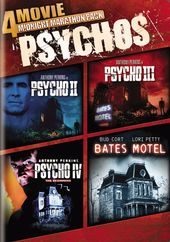 4-Movie Midnight Marathon Pack: Psychos (Psycho