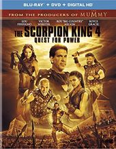 Scorpion King 4: Quest For Power (Blu-ray + DVD)