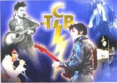 Elvis Presley - TCB Collage - Postcard