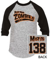 The Misfits - Astro Zombies - Baseball Jersey -