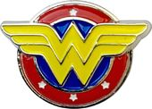DC Comics - Wonder Woman - Logo Colored Pewter