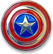Marvel Comics - Captain America - Colored Pewter
