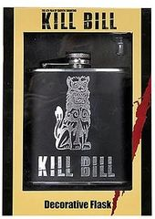 Kill Bill - Embossed Stainless Steel Flask