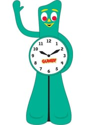 Gumby - Animated Motion Clock