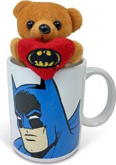 DC Comics - Batman Face - 11 oz. Cuddle Cup