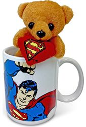 DC Comics - Superman Flying - 11 oz. Cuddle Cup