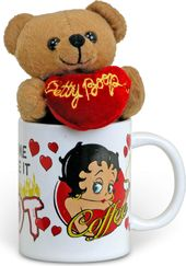"Betty Boop ""Some Like It Hot"" Cuddle Cup"