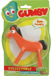 "Gumby - Pokey - Bendable 5"" Action Figure"