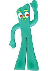 "Gumby - Mini Bendable 3"" Action Figure"