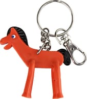 "Gumby - Pokey - Bendable 3"" Keychain"