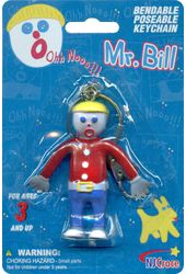 "Mr. Bill - 3"" Bendable Keychain"