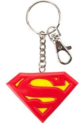 DC Comics - Superman - Logo - Bendable Keychain